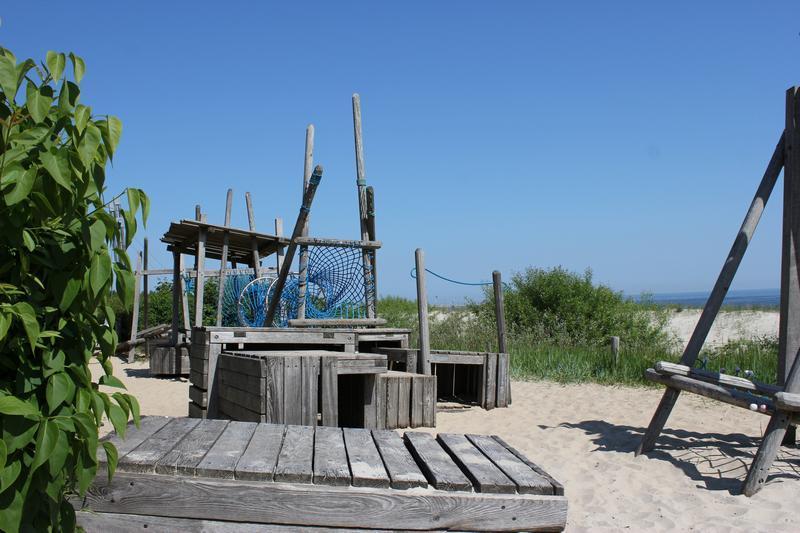 Spielplatz am Strand von Bansin